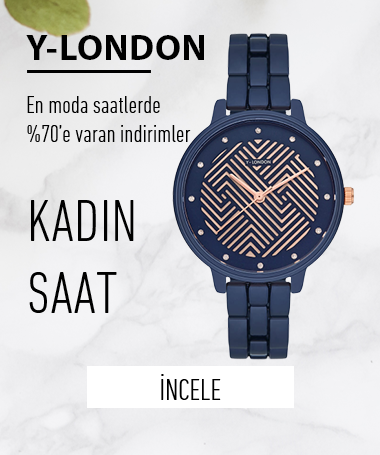 Y-LONDON KADIN KOL SAATLERİ